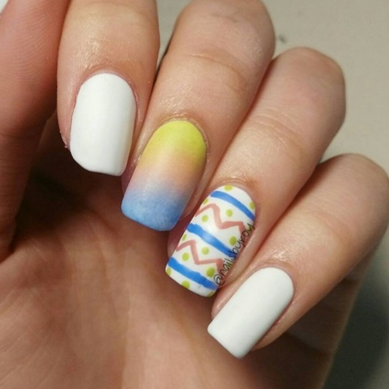 Easter pastel nail art nail art by nailsbyroy