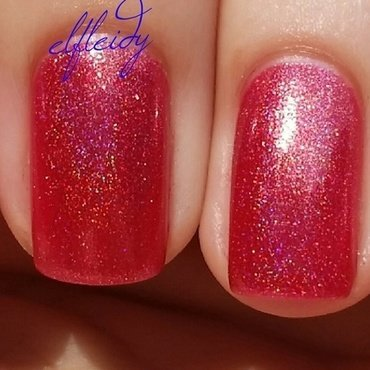 Top Shelf Lacquer Fireball Swatch by Jenette Maitland-Tomblin