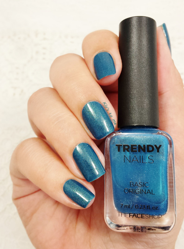 The Nail shop BL-03 Swatch by klo-s-to-me - Nailpolis