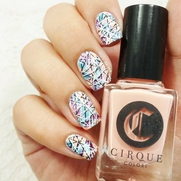 Nail-art foufou nail art by klo-s-to-me