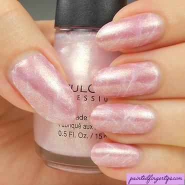 Rose quartz pink mineral nails thumb370f