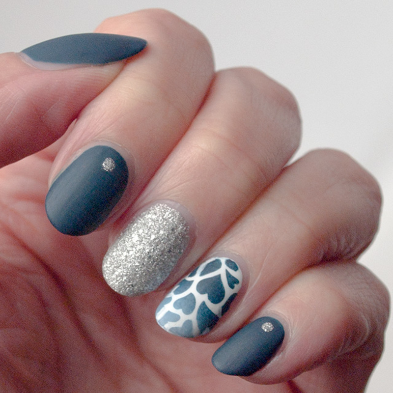 Friday Triad: inspired by @badgirlnails nail art by What's on my nails today?