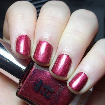 A-England Rose Bower Swatch by nailicious_1