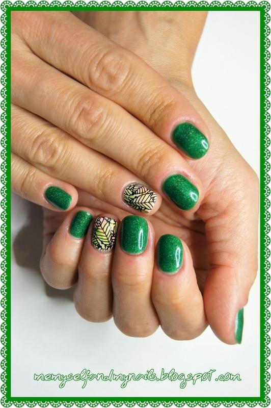 Spring  nail art by ELIZA OK-W