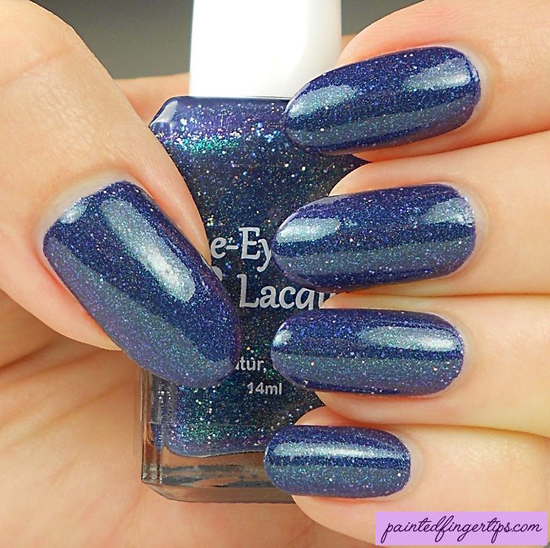 Blue-Eyed Girl Lacquer Luminous Matter Swatch by Kerry_Fingertips