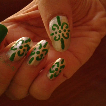 nothing symbolic nail art by Rusa