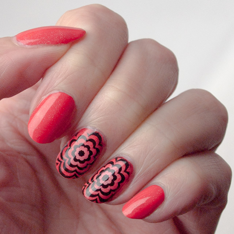 Summer colors nail art by What's on my nails today?