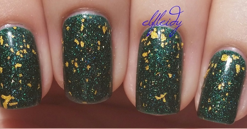 Zoya Gilty and Zoya Merida Swatch by Jenette Maitland-Tomblin