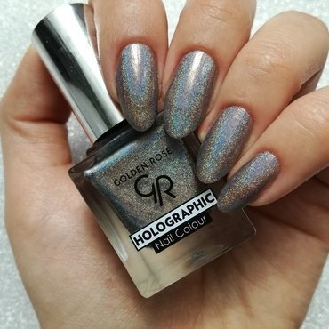 Golden Rose Holographic 07 Swatch by MaliNaila