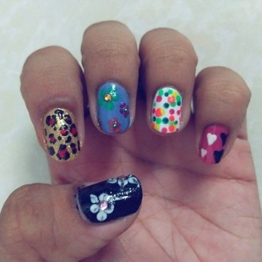 Nail art designs using toothpick  nail art by Enaildiaries