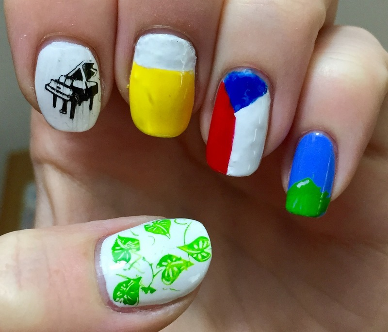 Where you live nail art by Meggy