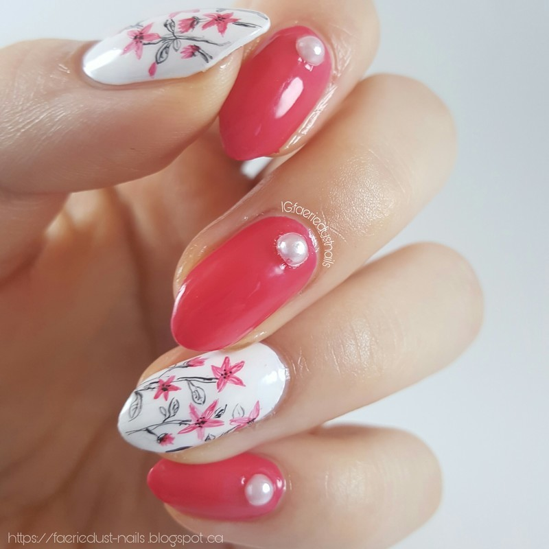 Doodles nail art by Shirley X.