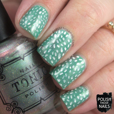 Mint smoosh pattern nail art 4 thumb370f