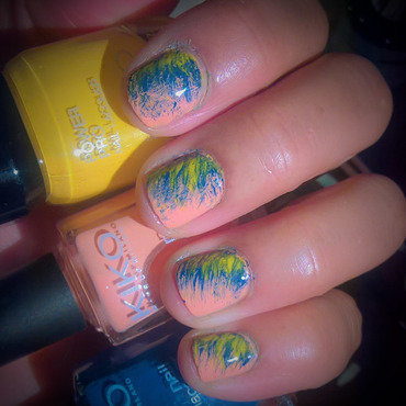 #fanbrushfriday 06/07/2017 nail art by Avesur Europa
