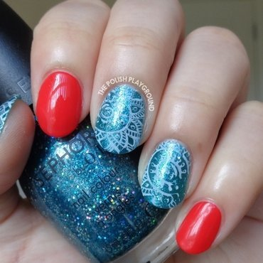 Red 20with 20blue 20glitter 20and 20white 20faded 20stamping 20nail 20art thumb370f