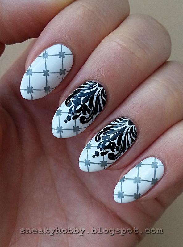 Born Pretty Store Stamping Polish #444 I nail art by Mgielka M