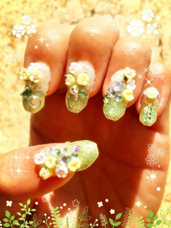 midsummer night's dream nail art by Idreaminpolish