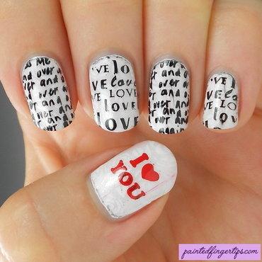 Love letter nails thumb370f