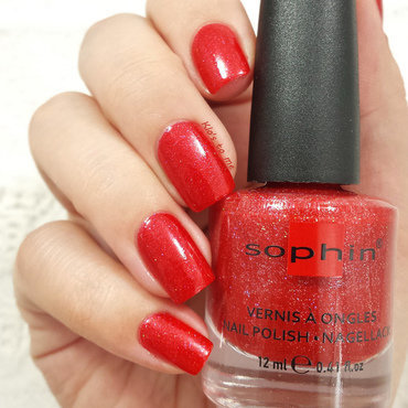 Sophin Cosmetics Haute couture Swatch by klo-s-to-me