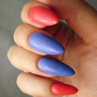 Essie x 2 nail art by Yenotek