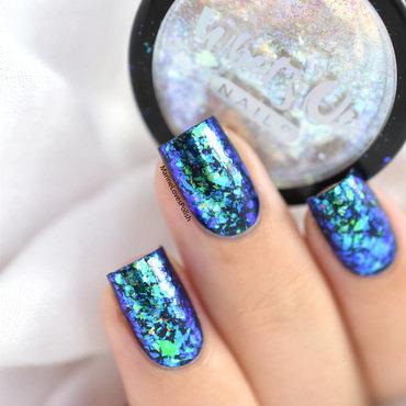 Mermaid nails nail art by Marine Loves Polish