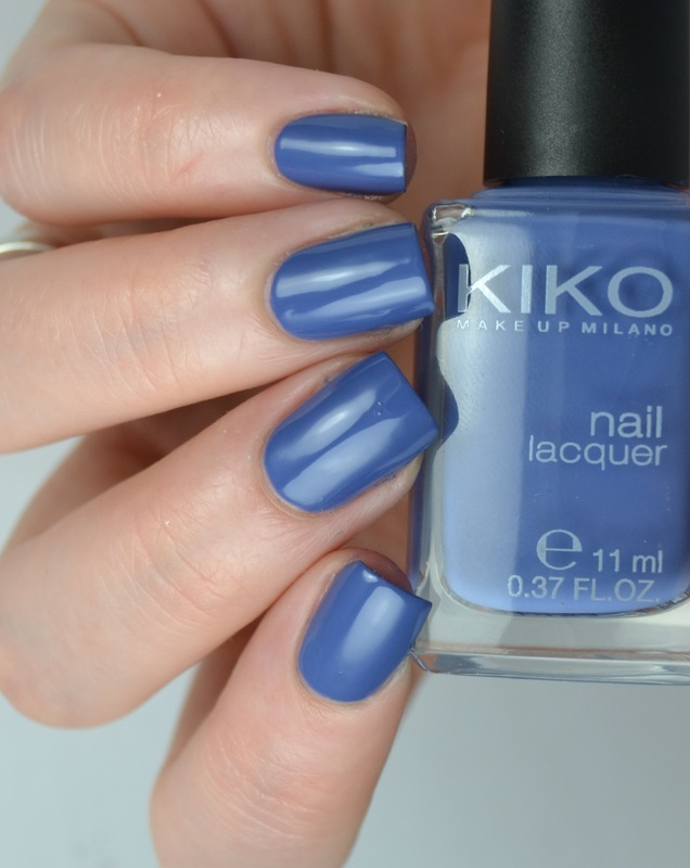 Kiko 518 Light Navy Blue Swatch