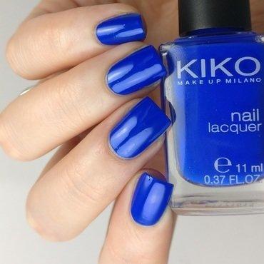 Kiko 336 Electric Blue Swatch by Heipyh