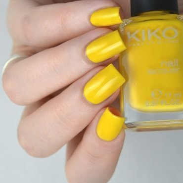 Kiko 279 yellow Swatch by Heipyh