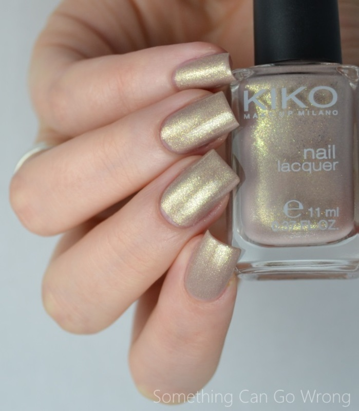Kiko 479 Pearly Golden Sesame Swatch by Heipyh