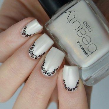 Leopard ruffian  nail art by Heipyh