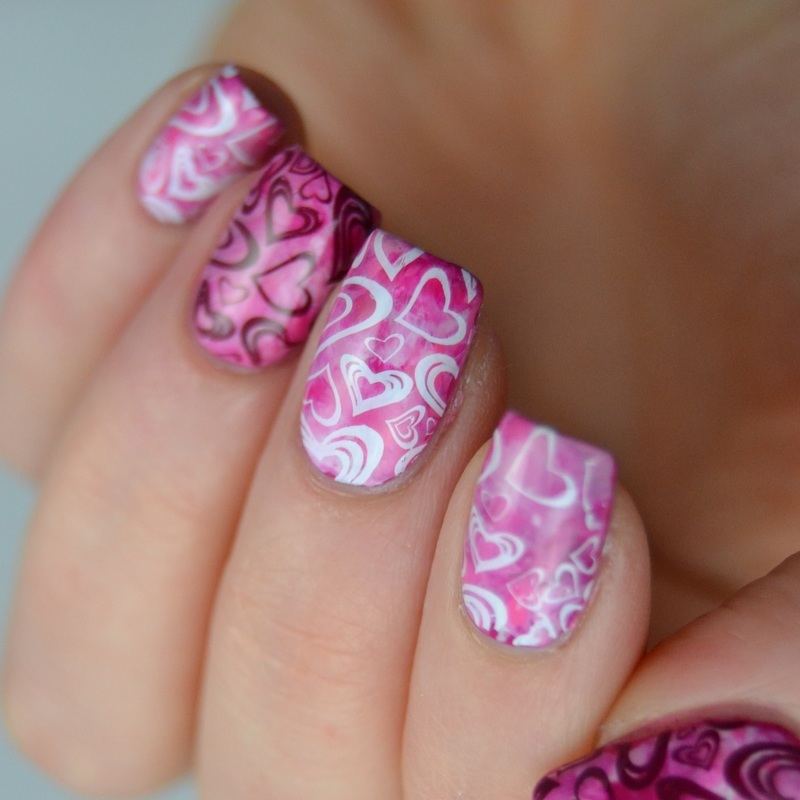 Valentine's day nails nail art by Heipyh