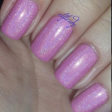 Cupcake Polish Back to the Fuchsia Swatch by Jenette Maitland-Tomblin