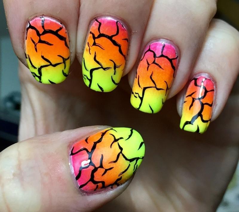 Neon :) nail art by Meggy
