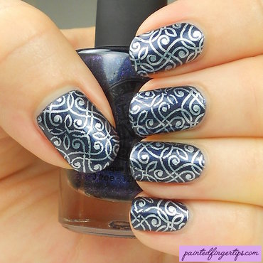 Pearlescent white stamping thumb370f