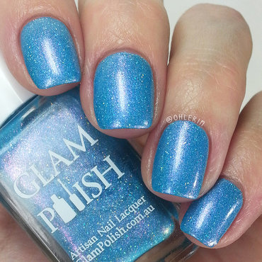 Glam Polish I Got My Eye On You Swatch by Lindsay