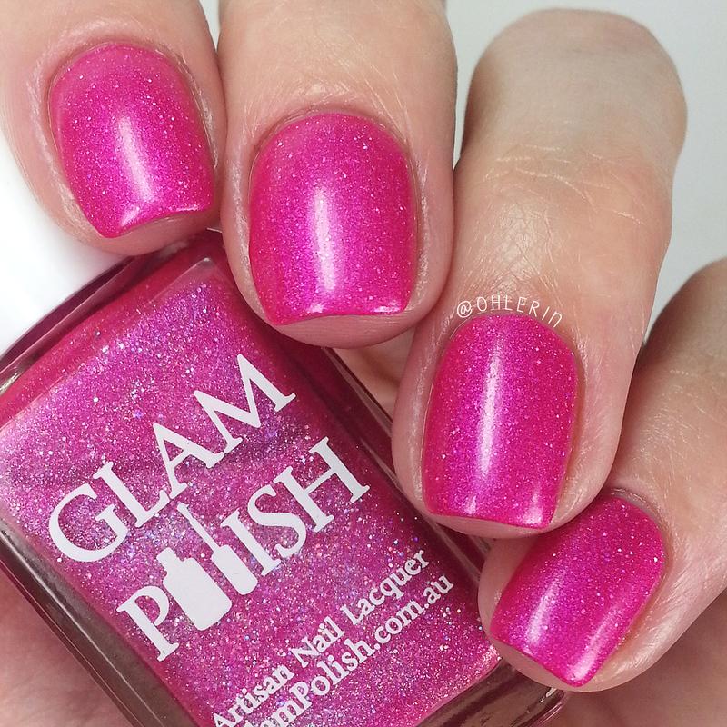 Glam Polish Everyone Has a Secret Identity Swatch by Lindsay