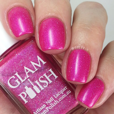 Glam Polish Everyone Has a Secret Identity Swatch by Lindsay
