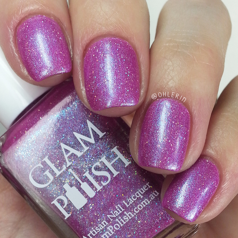 Glam Polish Music Is Magic Swatch by Lindsay