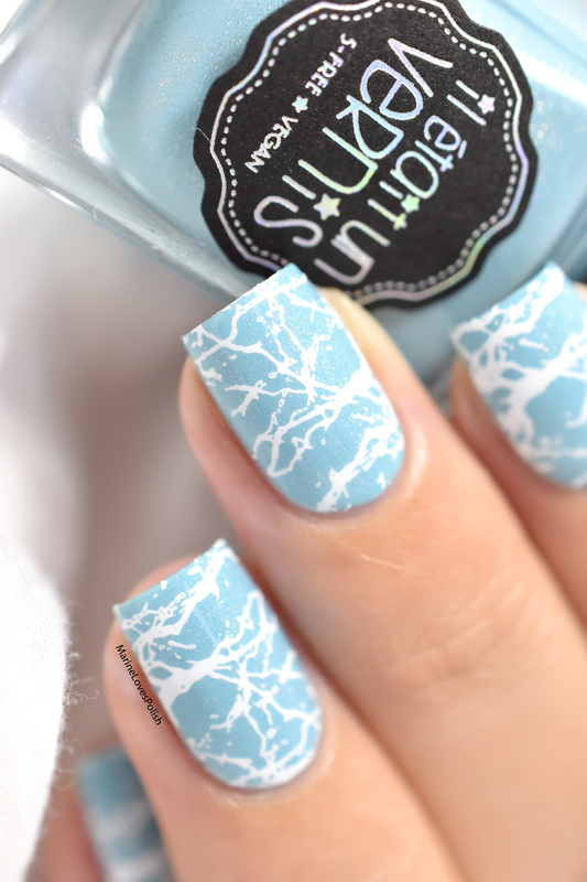 Splash!  nail art by Marine Loves Polish
