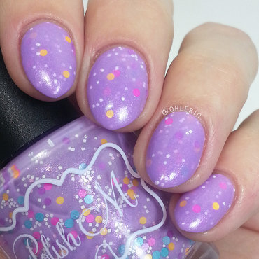 Polish 'M Take A Load Off Swatch by Lindsay