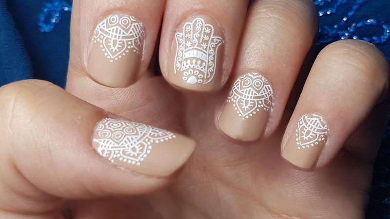 Oriental nail art nail art by Depoli