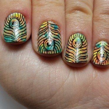 wild claw nail art by Depoli