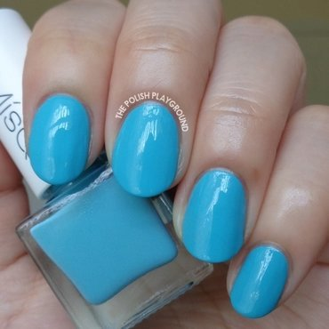 Misqs GR001 and MisQs Kaya Nail Polish GR001 Swatch by Lisa N