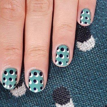 Like my top nail art by Depoli