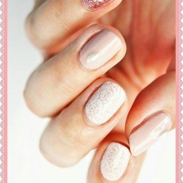 Wedding nail art by ELIZA OK-W