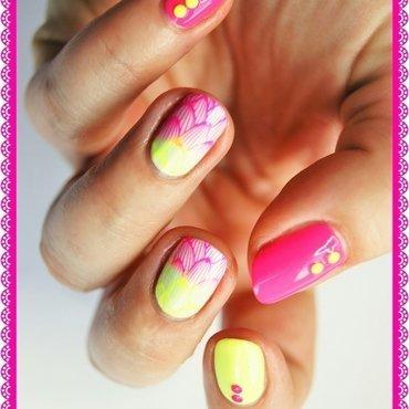 Summer's here nail art by ELIZA OK-W