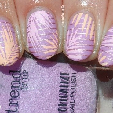 Tropicalize nail art by Plenty of Colors