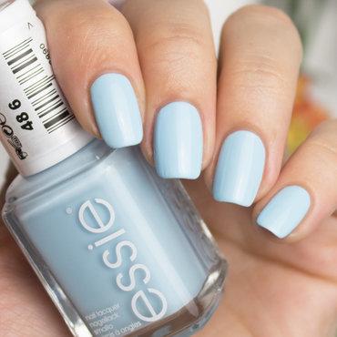 Essie Blue-La-La Swatch by Sabrina