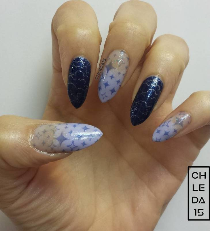 In The Sky With Diamonds Nail Art By Chleda15 Nailpolis Museum Of