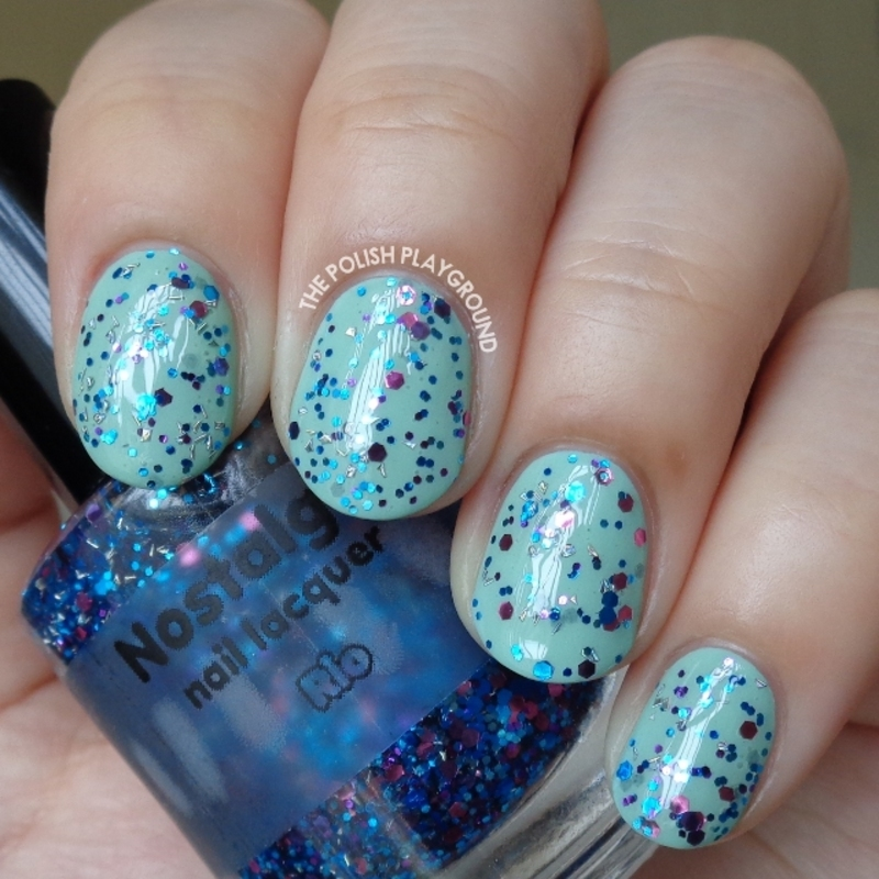 Nostalgic Nail Lacquer Rio Swatch by Lisa N